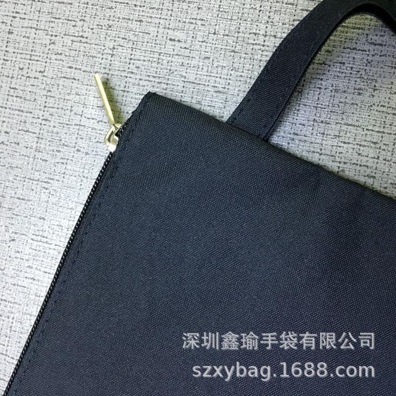 厂家定制拉链pvc帆布文件袋 学生文具试卷收纳袋手机化妆品手提袋