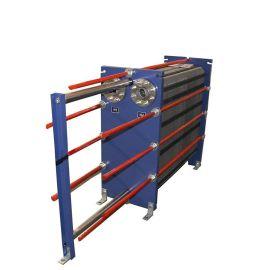 薄刚带轧机的润滑和齿轮油冷却器 板式换热器