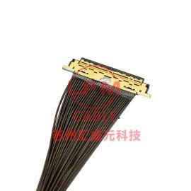 苏州汇成元供I-PEX20395-040T-04HRS DF38-40P-0.3SD极细同轴屏线