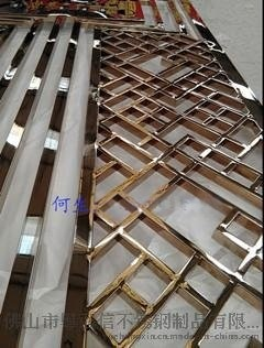 异形不锈钢屏风价格 长春不锈钢屏风批发 佛山不锈钢屏风加工