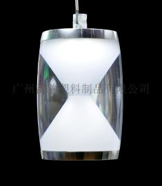 LED外壳 鼓形漏斗餐吊灯 吸顶灯 压克力灯罩W32