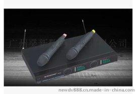 BIRDSONG BG-7200力志无线双手持话筒麦克风一托二**现货