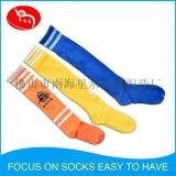 订制LOGO长筒提花足球袜 长筒舒适透气保暖男袜 成人长筒足球袜
