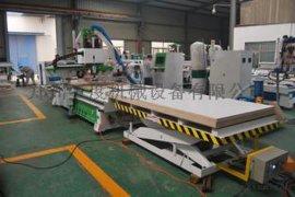 板式家具自动上下料生产线加工中心