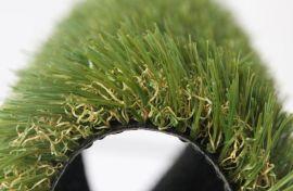 咖啡色秋天装饰仿真塑料草,庭院人工假草四色秋草坪