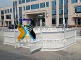 山东新兴生产冰球场围栏聚乙烯围挡