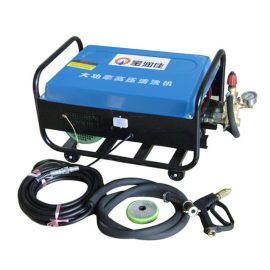 电动洗车机, 380V铜材质高压冲水泵, 高压清洗机