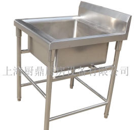 廚房304不鏽鋼單眼水池