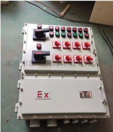 IP65户外防爆配电箱定制/带防雨罩防爆配电箱