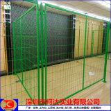厂区隔离网 车间绿色分隔网 安全护栏 低碳钢丝网