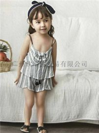童裝女裝【洛小米】夏裝品牌折扣童裝走份一手貨源