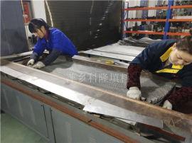 今日探讨:BX500不锈钢丝网波纹生产流程