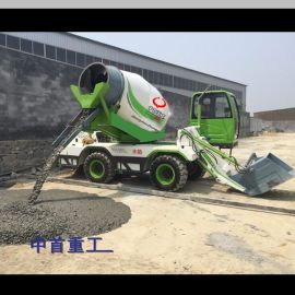 全自动水泥搅拌车价格图片 建筑工地专用车厂家 北京XIAO