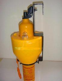 JHLS-4船用塑料救生圈用自亮灯及自发橙色烟雾组合信号