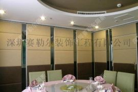 广东酒店隔断移动隔音墙活动屏风装修