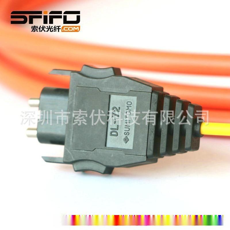 DL72光纖接頭 三菱QJ72LP25-25 AS-B型光纜