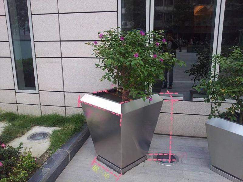 延安不鏽鋼錐形花盆/延安不鏽鋼製作/批量生產