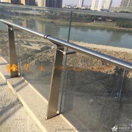 耀恒 优质不锈钢户外栏杆 户外玻璃防护栏杆 新品