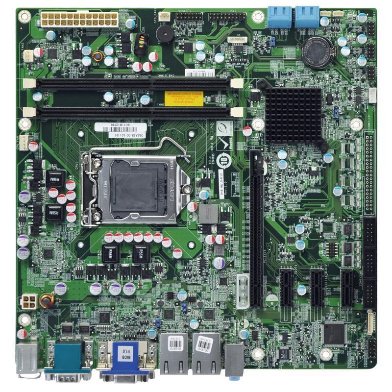 臺灣威強IMB-H610A嵌入式工控主板H61晶片組6串口
