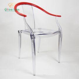 **椅子 亚克力椅子 七彩云 家用有机玻璃椅子 (164-BPC)
