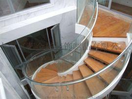 京艺旋转光纤工程发光楼梯不锈钢实木铝合金定做楼梯