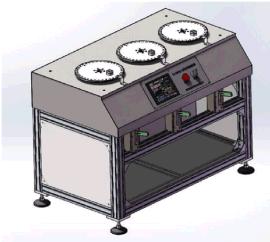 工业机器人柔性电缆扭转弯曲试验机