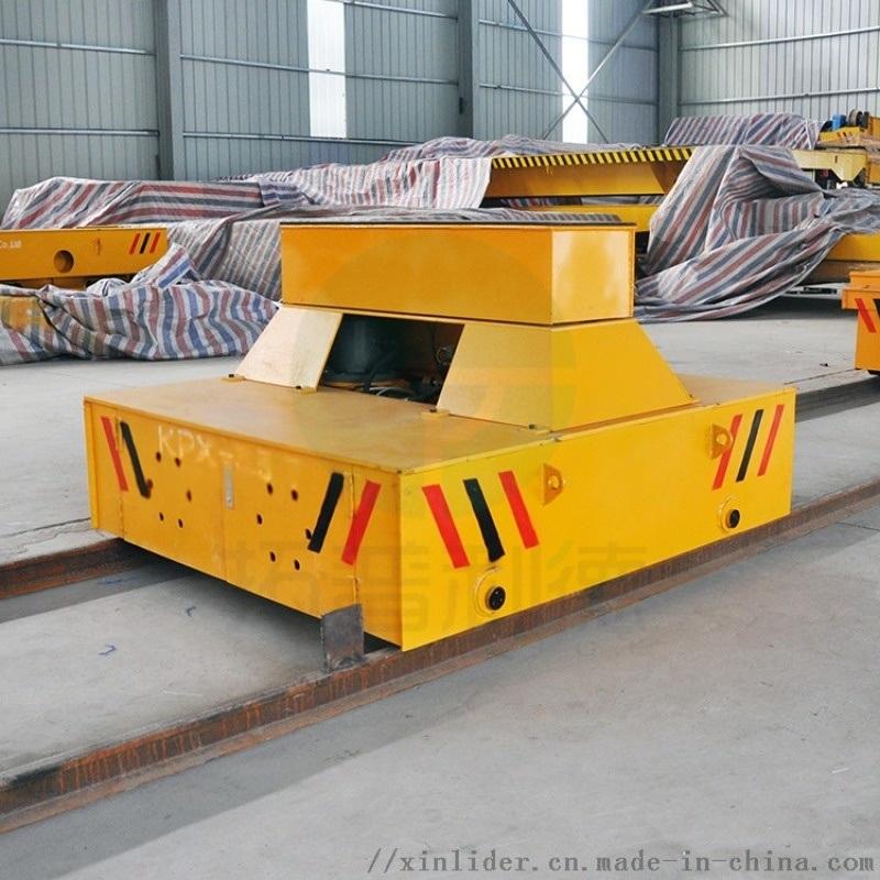 无锡厂家牵引式轨道车喷砂房轨道平板车零故障