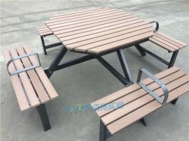山樟木戶外桌椅庭院防腐木陽臺桌椅組合露臺室外桌椅