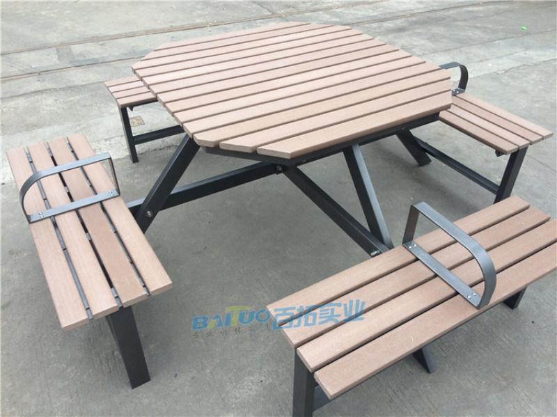 山樟木户外桌椅庭院防腐木阳台桌椅组合露台室外桌椅