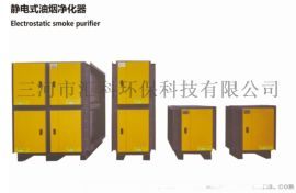 静电式油烟净化器
