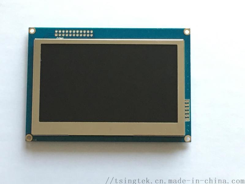 4.3英寸,触摸屏可选TFT,液晶显示模块
