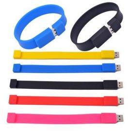 手腕带u盘 运动手腕u盘 个性USB 足量u盘定制 u盘制造商