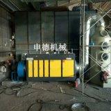 喷漆房光氧废气处理设备 光氧催化加喷淋塔整套设备