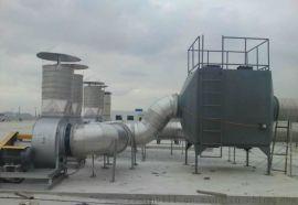 酸雾净化塔PP活性炭废气处理塔
