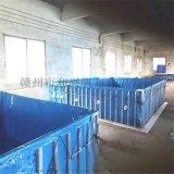 水產養殖新方式 養蝦養魚帆布水池 工廠化養殖神器