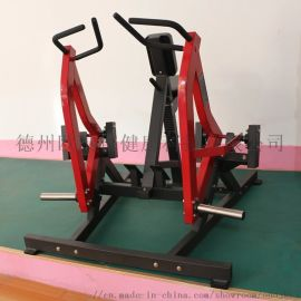 悍马坐姿划船训练器运动力量健身器械室内商用健身器材