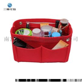 毛氈化妝包 跨境多功能收納包創意旅行口紅包