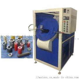 压缩弹簧喷油机 拉伸弹簧滚喷机 扭转弹簧烤漆机