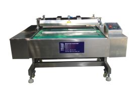 滚动式真空包装机 凉粉米线连续倾斜式真空包装机