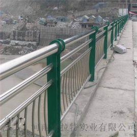 杰拉特不锈钢桥梁河道防撞护栏厂家支持定制