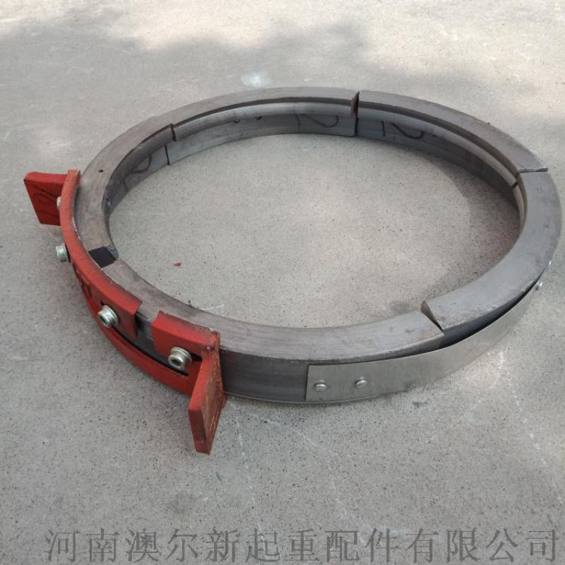 10T鋼絲繩電動葫蘆鋼筋導繩器  鑄鋼開口型導繩器