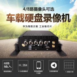 高清硬盘录像机 4/6/8路车载监控AHD主机