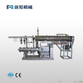 供应颗粒鱼食膨化机 水产饲料膨化机 饲料加工设备