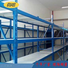 中型货架仓储货架搁板式货架载重150kg-600kg分层货架工厂直销
