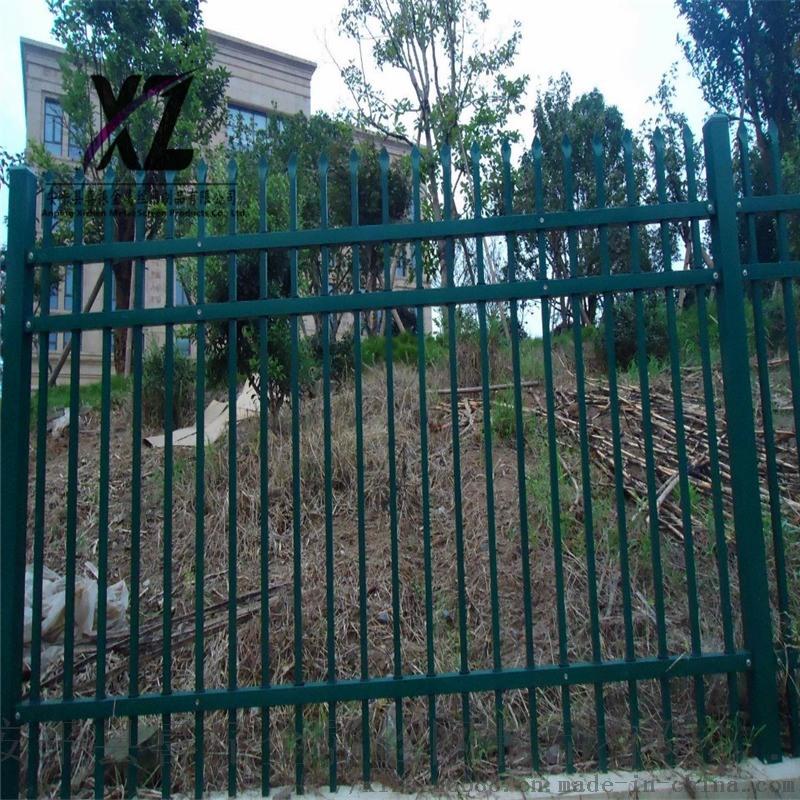 围墙防护隔离栅,组装式锌钢栅栏,锌钢护栏设计