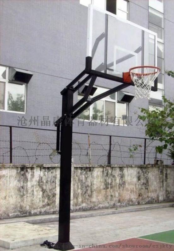 方管固定升降篮球架 沈阳篮球架 埋地篮球架