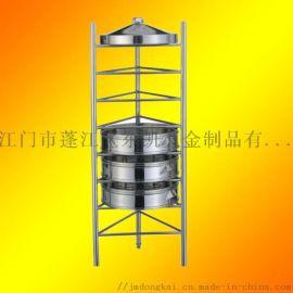 不锈钢蒸笼架商用厨房三角架