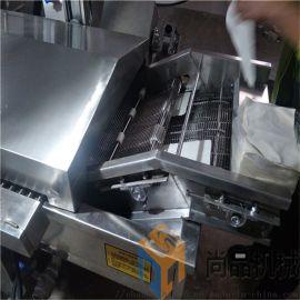 全自动煎饼果子油炸机 薄脆饼油炸机生产线