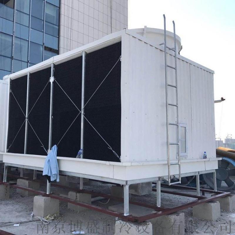 台州超低噪音冷却塔 台州横流式方形冷却水塔