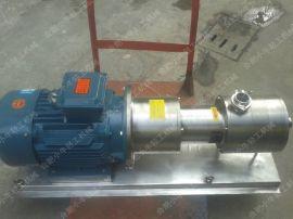 乳化泵,管线式乳化机,高剪切分散乳化机